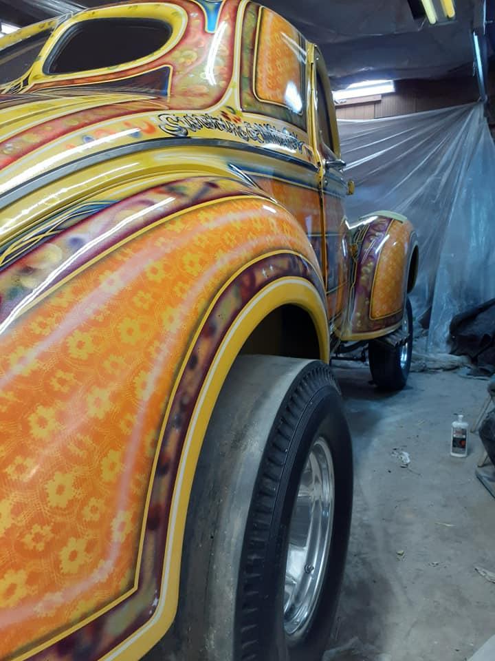 auto's crazy paint - peinture de fou sur carrosseries - Page 2 12651410