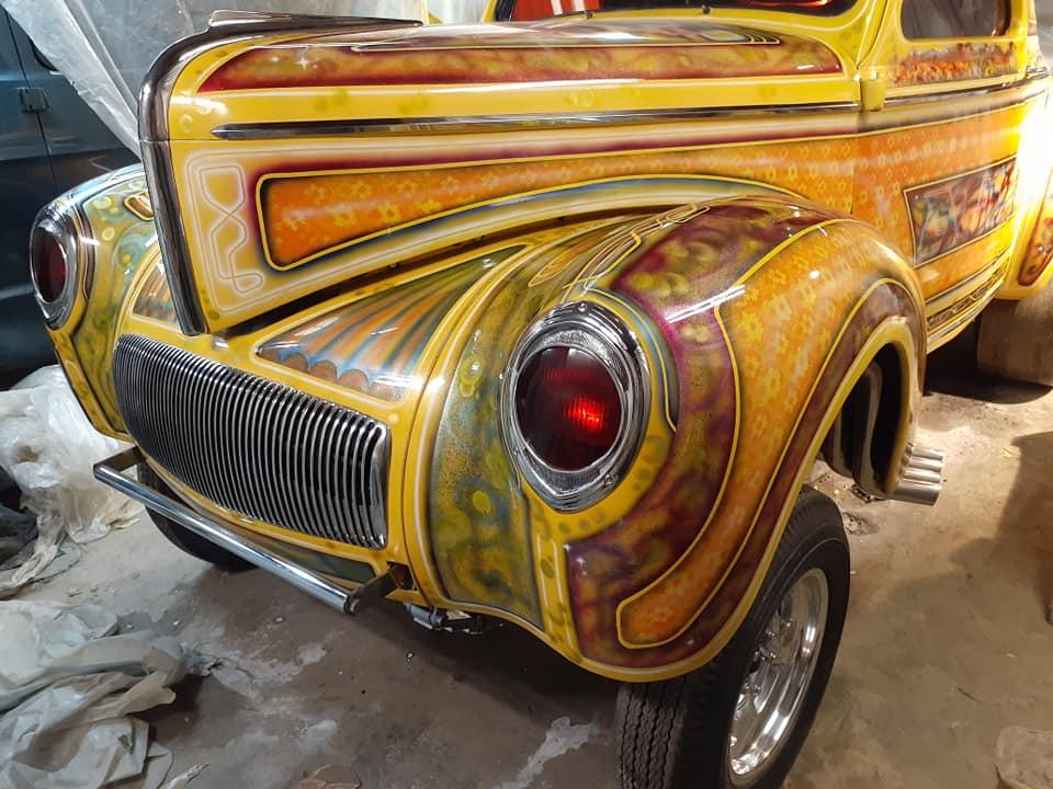 auto's crazy paint - peinture de fou sur carrosseries - Page 2 12659510
