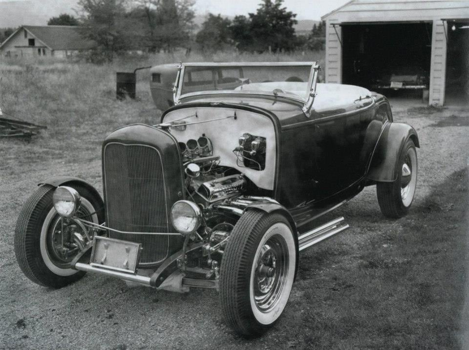 "Hot rod in street - Vintage pics - ""Photos rétros"" -  - Page 7 12723610"