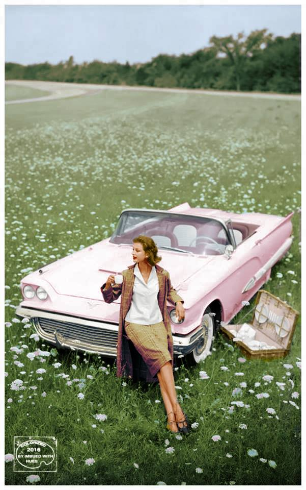 B & W Classic cars and vintage pics colorized by Imbued with hues 12742510