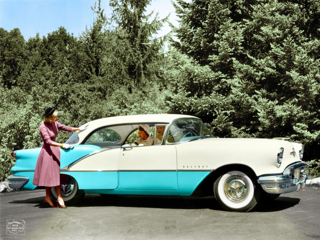 B & W Classic cars and vintage pics colorized by Imbued with hues 12772010