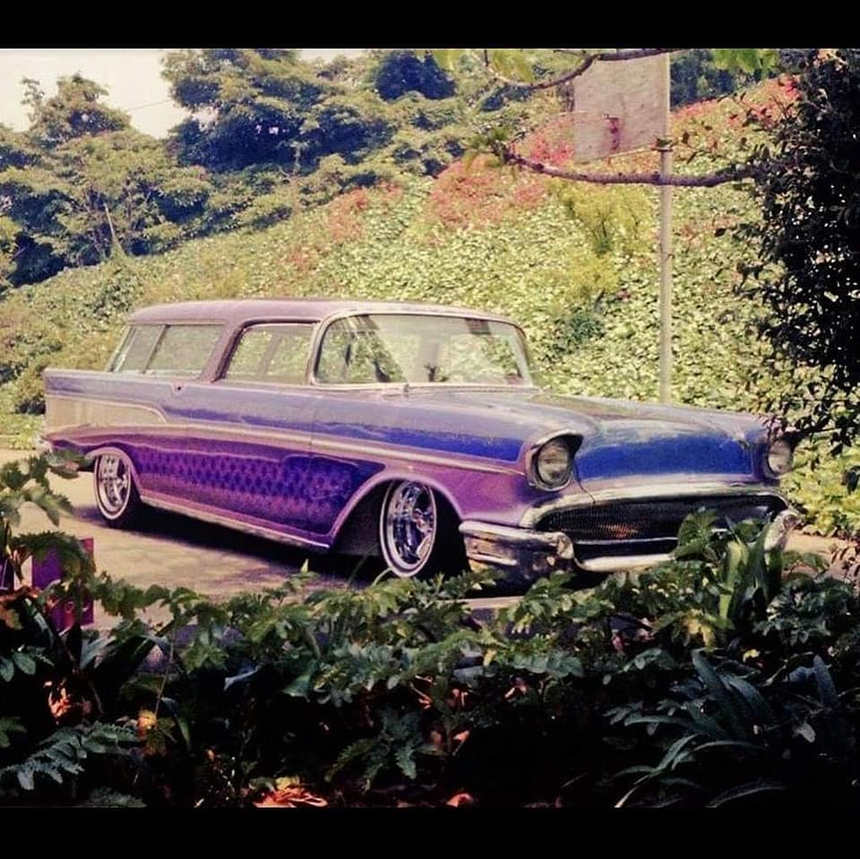 custom cars in the street - in situation ( vintage pics 1950's & 1960's)  - Page 6 12825410