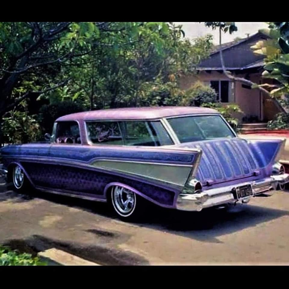 custom cars in the street - in situation ( vintage pics 1950's & 1960's)  - Page 6 12869810