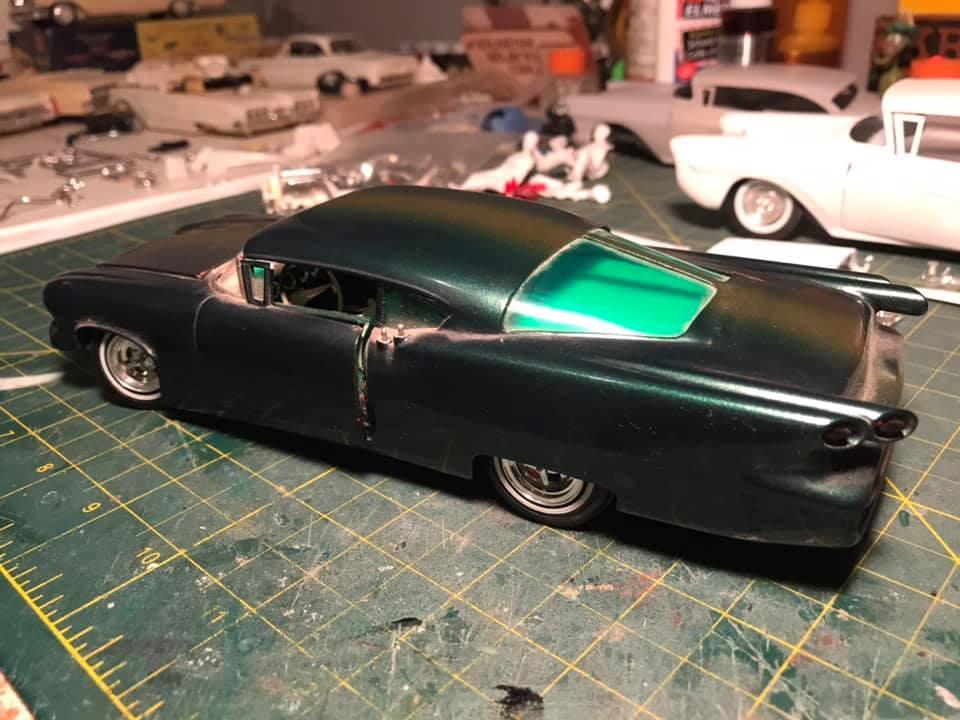 Vintage built automobile model kit survivor - Hot rod et Custom car maquettes montées anciennes - Page 14 12875110