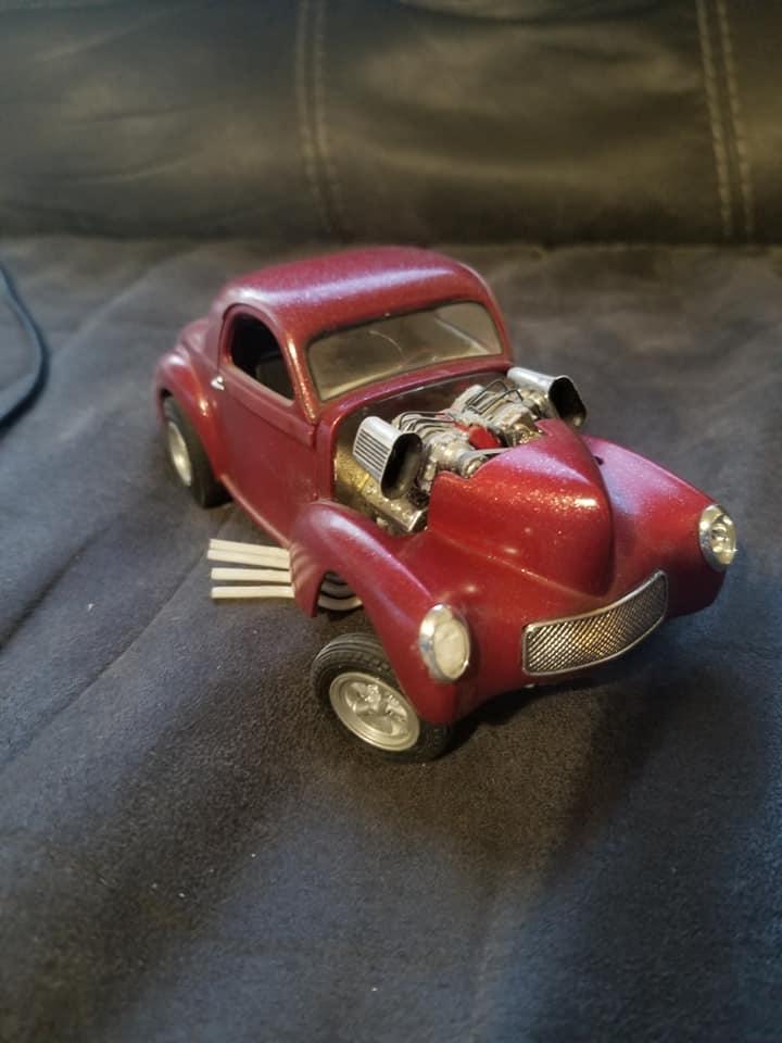 Vintage built automobile model kit survivor - Hot rod et Custom car maquettes montées anciennes - Page 14 12876610