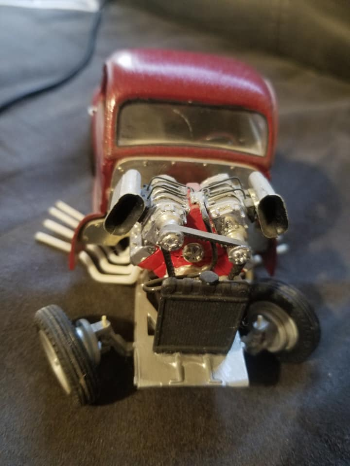 Vintage built automobile model kit survivor - Hot rod et Custom car maquettes montées anciennes - Page 14 12886110