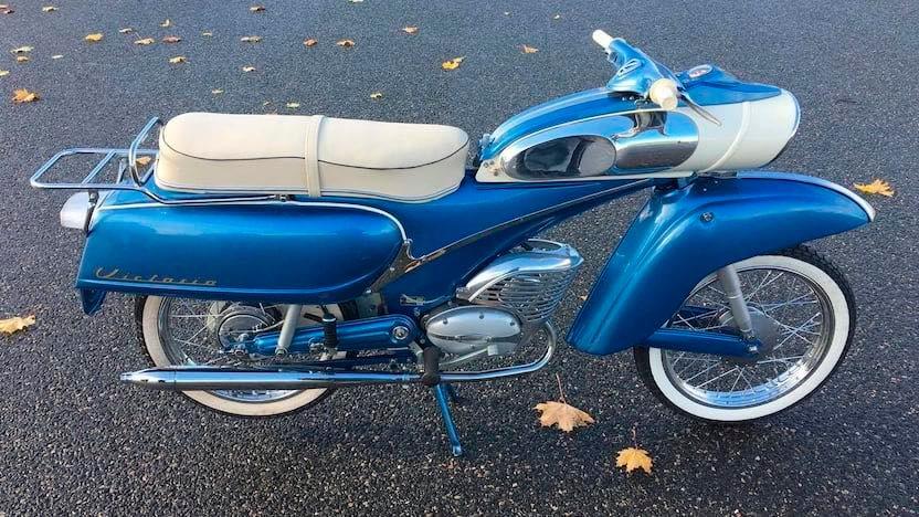 "1961 Victoria 115 ""Tin Banana"" 50cc 12886410"