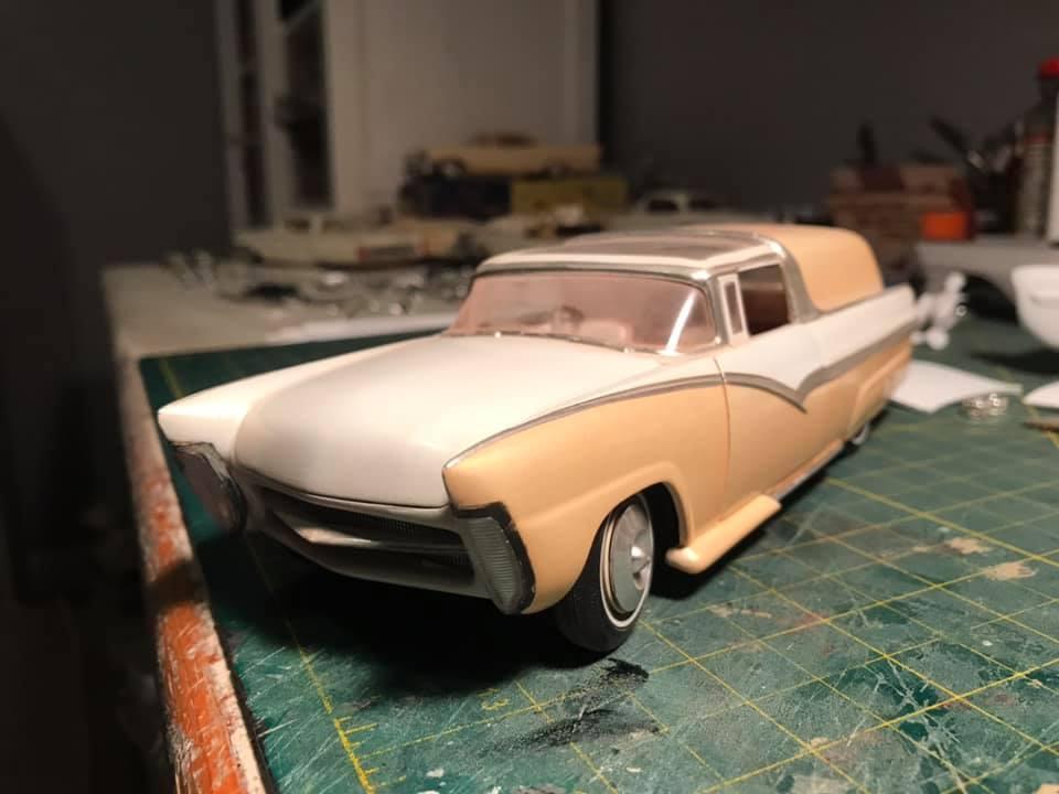 Vintage built automobile model kit survivor - Hot rod et Custom car maquettes montées anciennes - Page 14 12886810