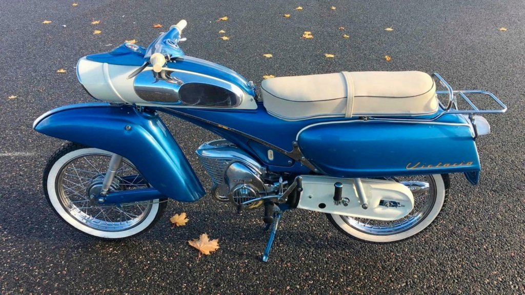 "1961 Victoria 115 ""Tin Banana"" 50cc 12887410"