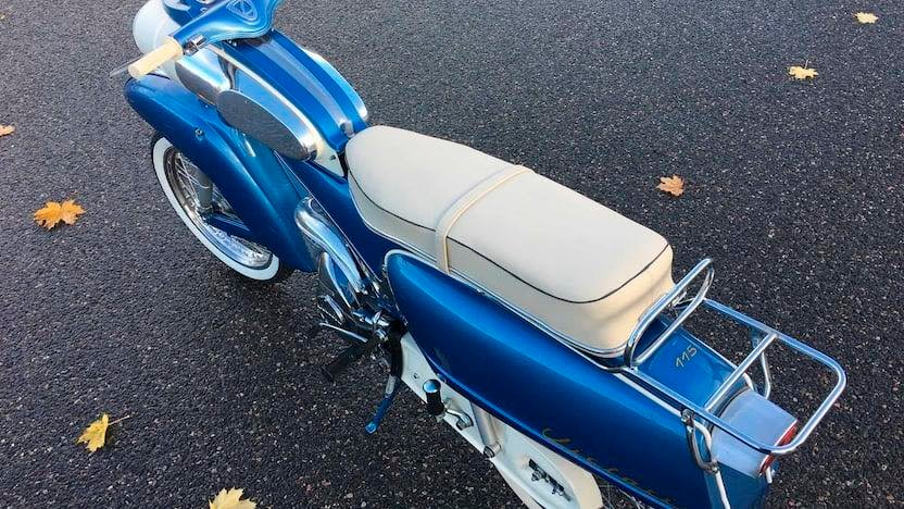 "1961 Victoria 115 ""Tin Banana"" 50cc 12896110"