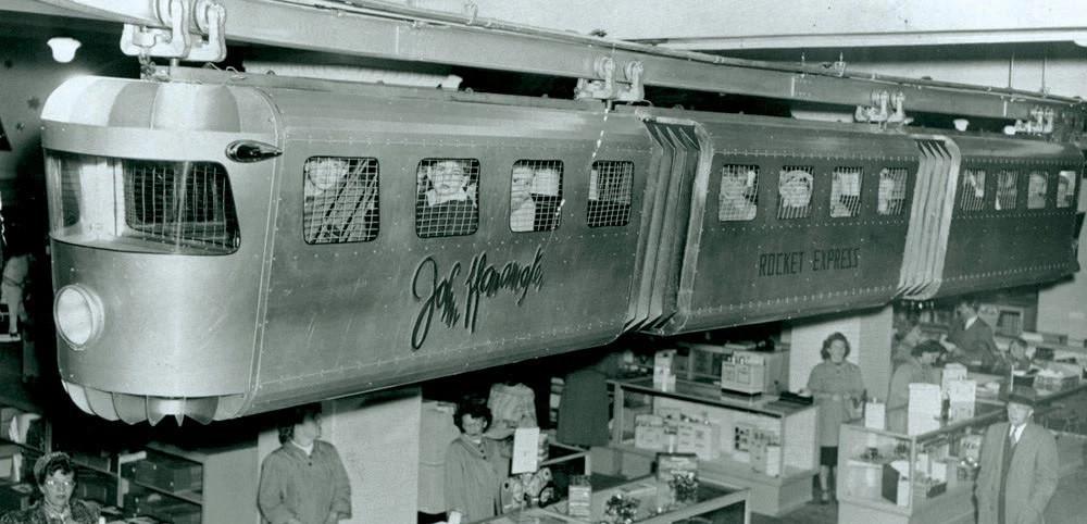 John Wanamaker Monorail 13083710