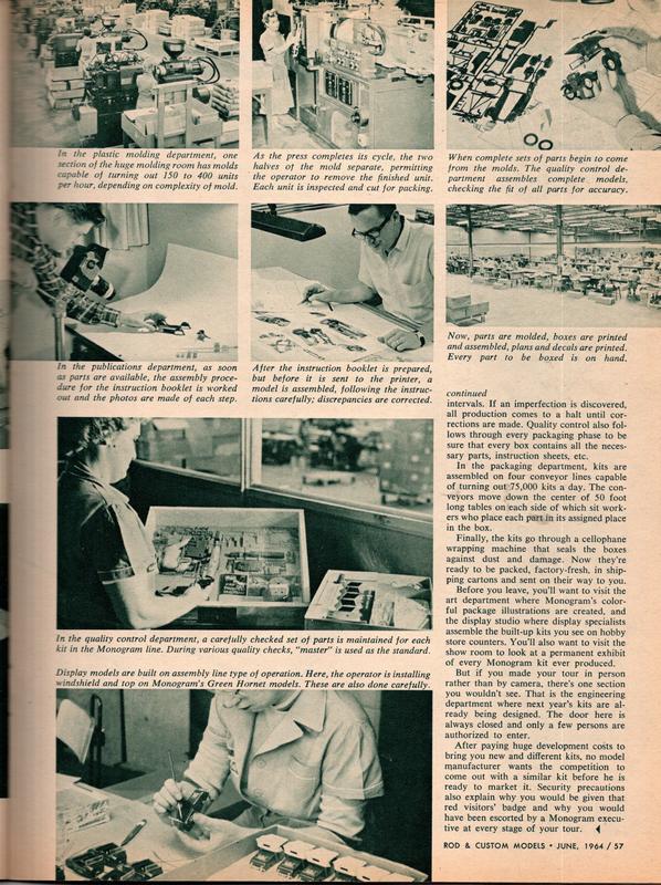 Rod and Custom Magazine Visit Monogram - June 1964 13130013
