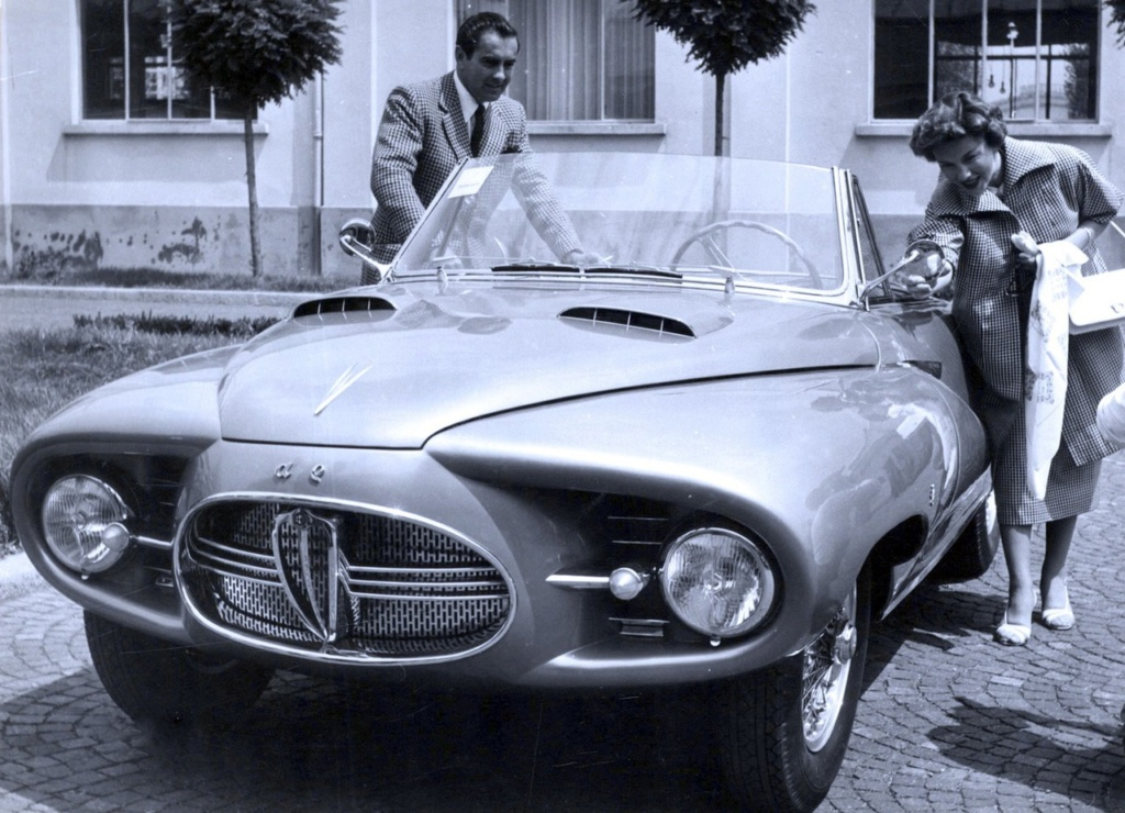 Alfa Romeo 1900C Convertible Astral, 1953 13168210