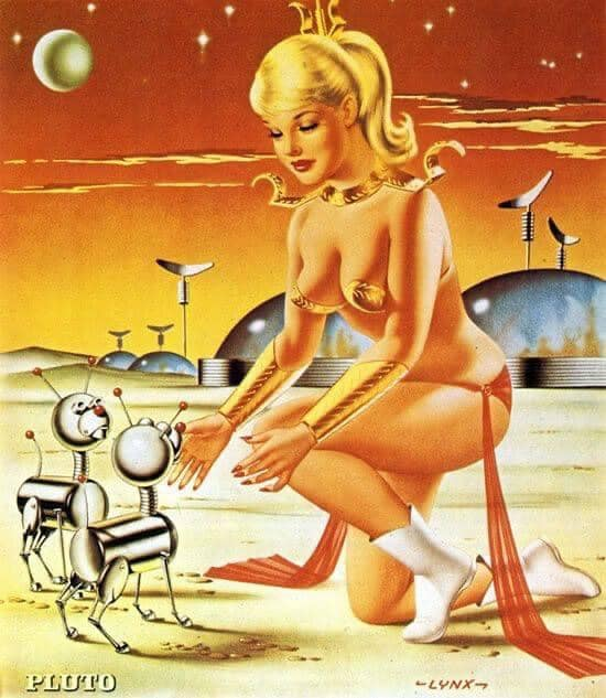 Sciences fiction, soucoupes volantes et extraterrestres - Sci Fi, Flying Saucers and Aliens 13168711
