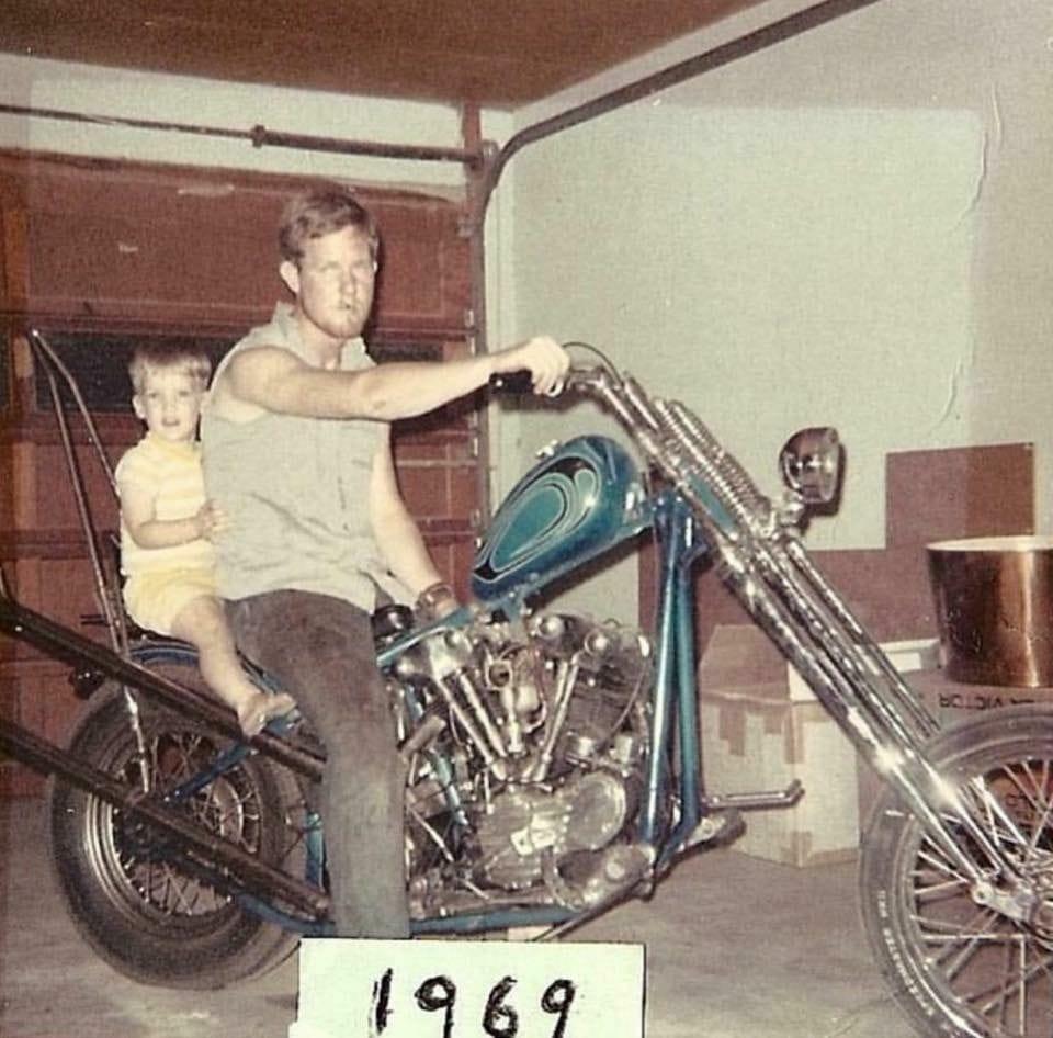 Photo Vintage -vintage pics - Chopper & Bobber - Page 4 13194710