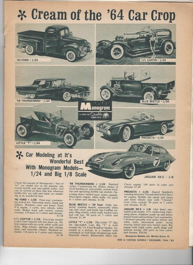 Vintage model kit ad - publicité - Page 3 13243810