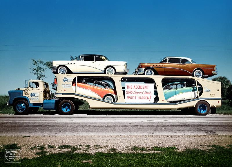 B & W Classic cars and vintage pics colorized by Imbued with hues 13245410