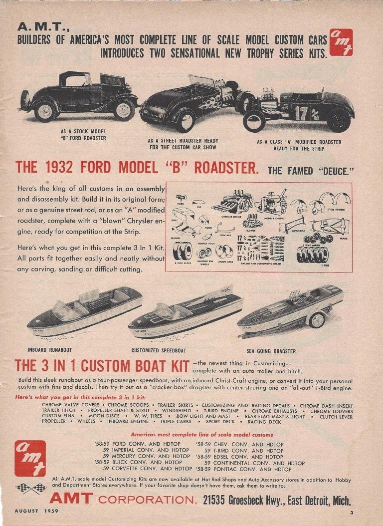 Vintage model kit ad - publicité - Page 3 13275011