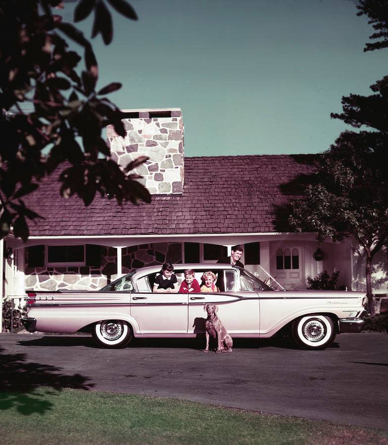 fifties & early sixties cars in situation - Vintage pics - Page 5 13359610