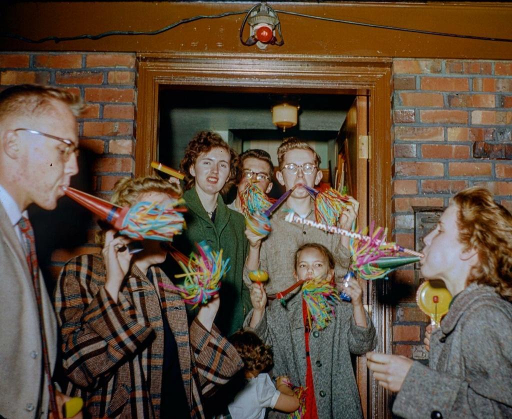 Happy new year vintage pics 13387610