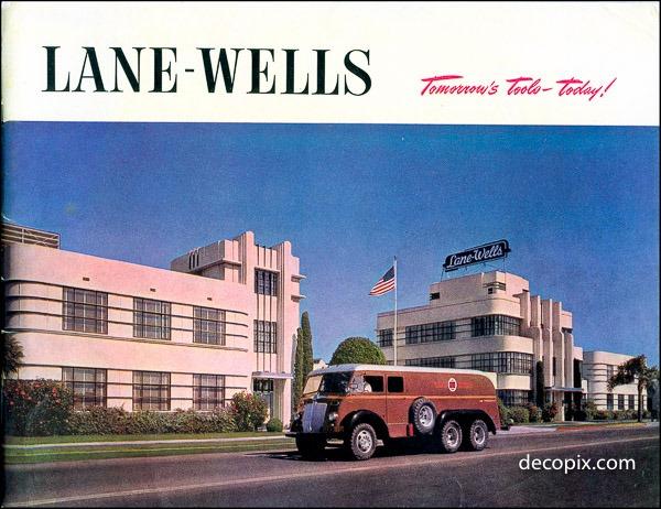 Architectures de banques et bureaux vintages - 1950's & 1960's Office & Bank  13415210