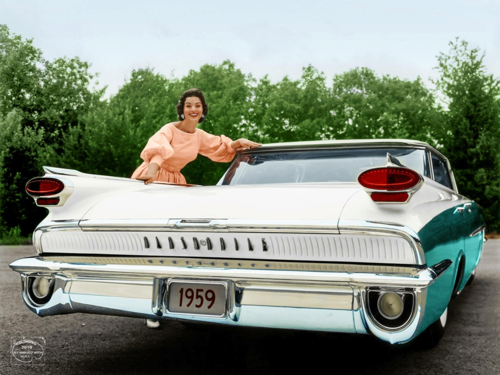 B & W Classic cars and vintage pics colorized by Imbued with hues 13416710