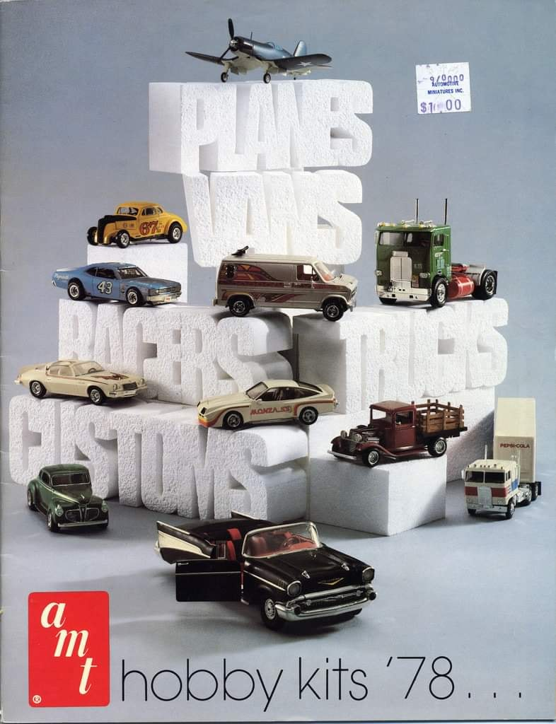 Amt catalogue 1978 - hobby kits 78 13463210