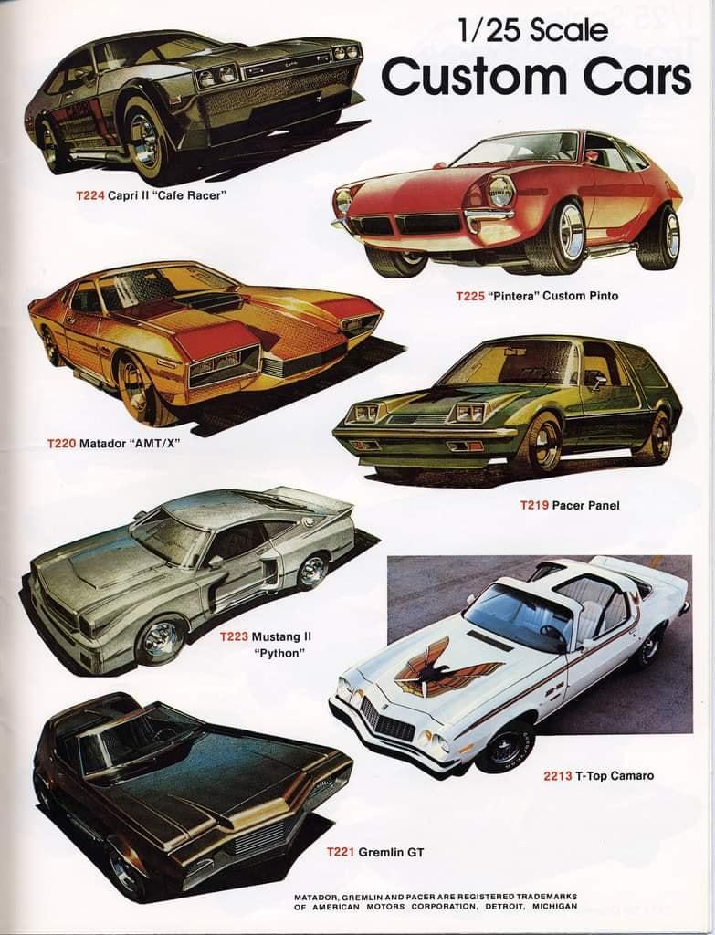 Amt catalogue 1978 - hobby kits 78 13475210