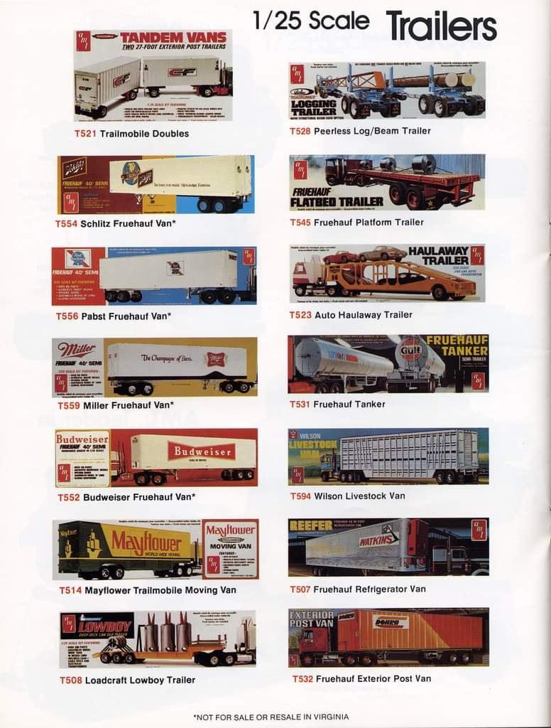 Amt catalogue 1978 - hobby kits 78 13505810