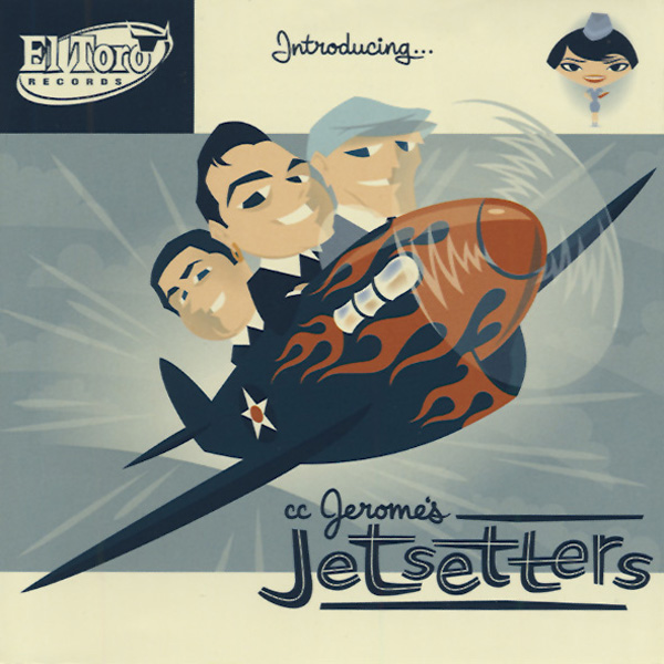 CC Jerome's Jetsetters - Rock 'n' roll and blues band usa 13550810