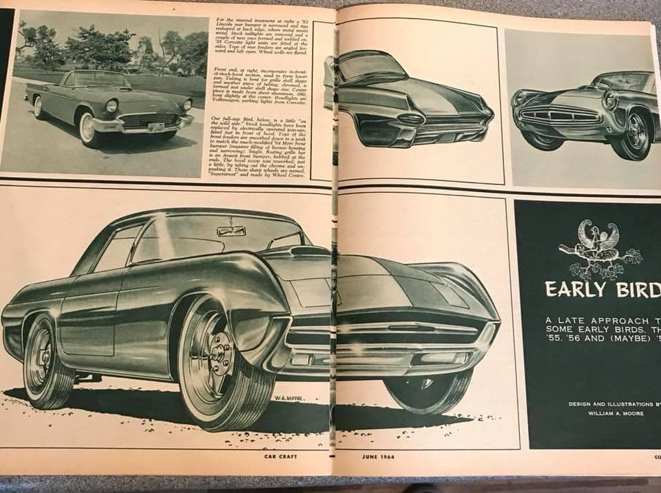 Car Craft magazine late fifties early sixties - restyling from mild to wild 13592710