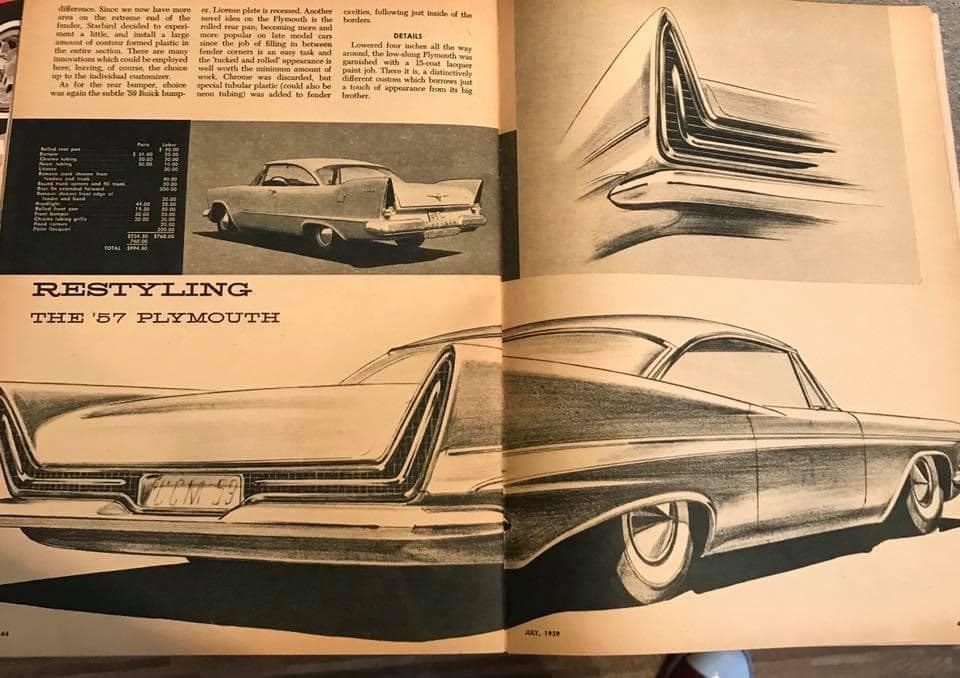 Car Craft magazine late fifties early sixties - restyling from mild to wild 13604810
