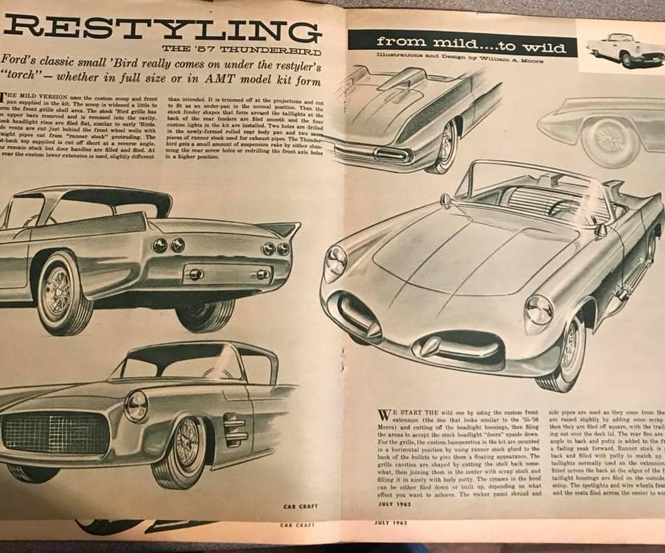 Car Craft magazine late fifties early sixties - restyling from mild to wild 13605010