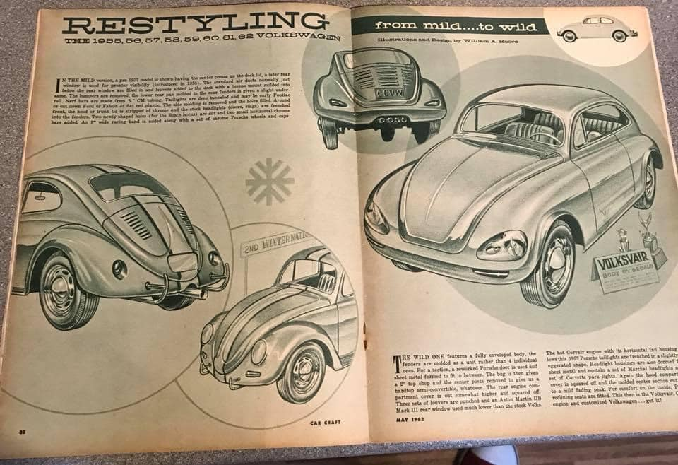 Car Craft magazine late fifties early sixties - restyling from mild to wild 13605210