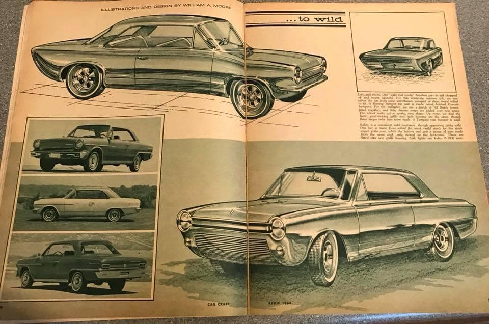 Car Craft magazine late fifties early sixties - restyling from mild to wild 13606410