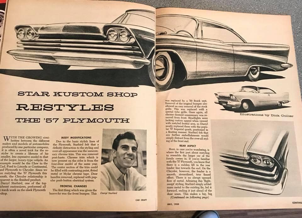 Car Craft magazine late fifties early sixties - restyling from mild to wild 13606910