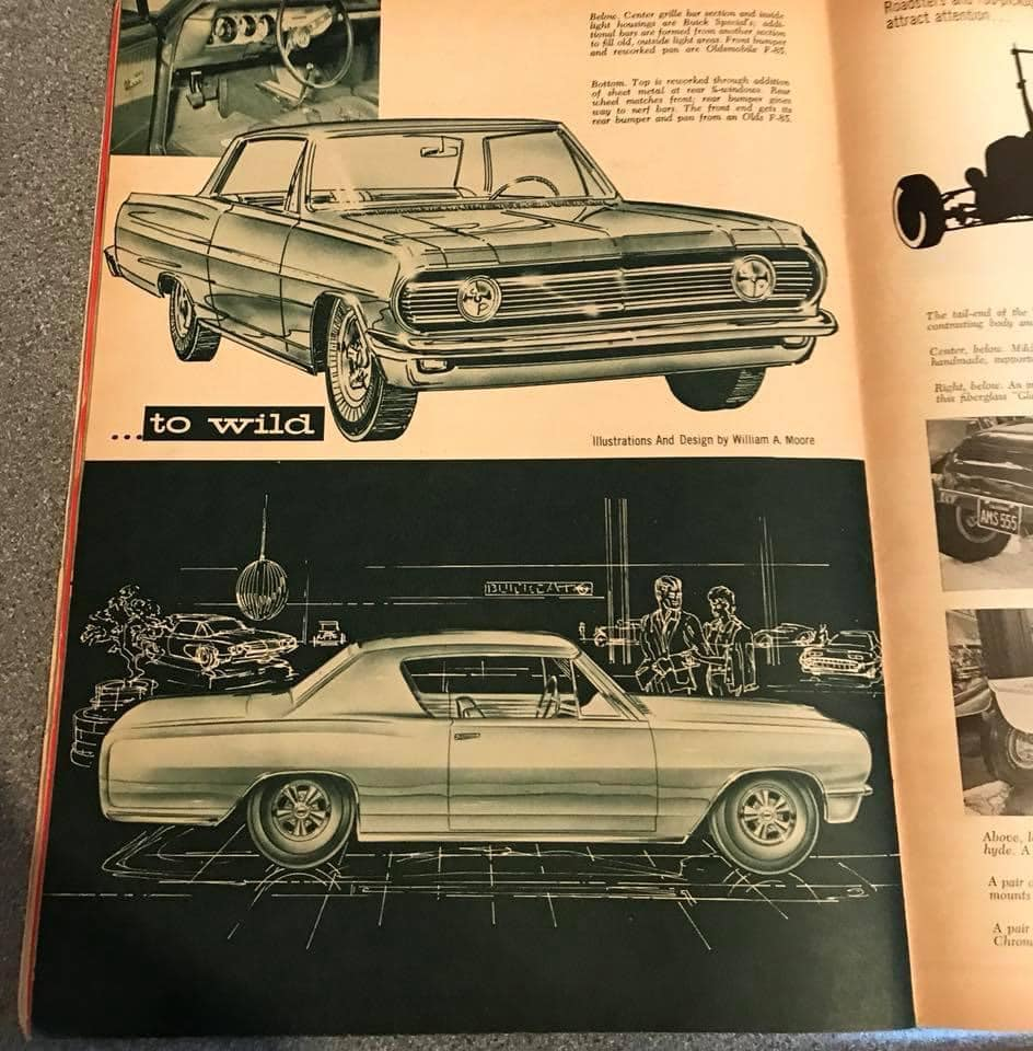 Car Craft magazine late fifties early sixties - restyling from mild to wild 13607410