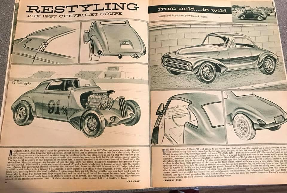 Car Craft magazine late fifties early sixties - restyling from mild to wild 13608310