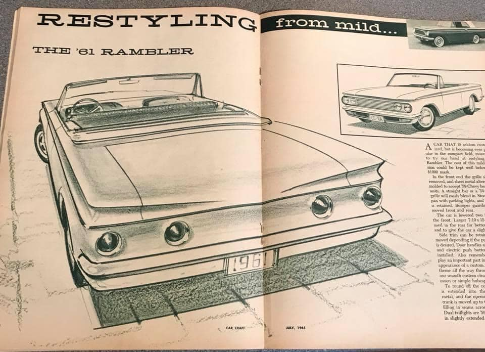 Car Craft magazine late fifties early sixties - restyling from mild to wild 13608410