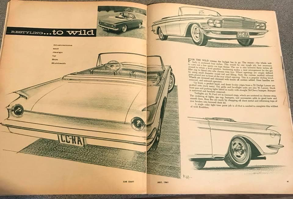 Car Craft magazine late fifties early sixties - restyling from mild to wild 13610410