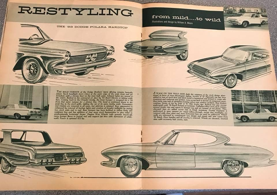 Car Craft magazine late fifties early sixties - restyling from mild to wild 13611110