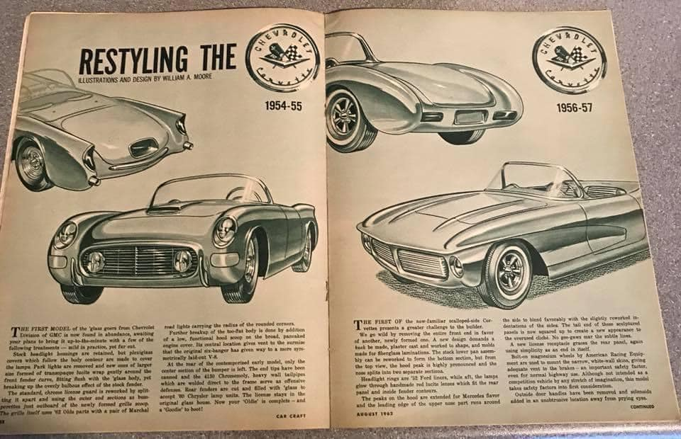 Car Craft magazine late fifties early sixties - restyling from mild to wild 13616510