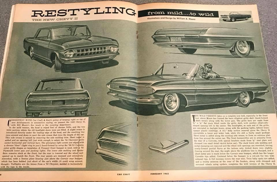 Car Craft magazine late fifties early sixties - restyling from mild to wild 13631110