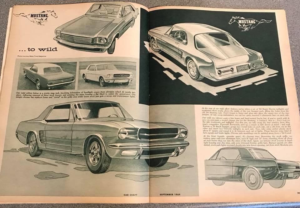 Car Craft magazine late fifties early sixties - restyling from mild to wild 13636710