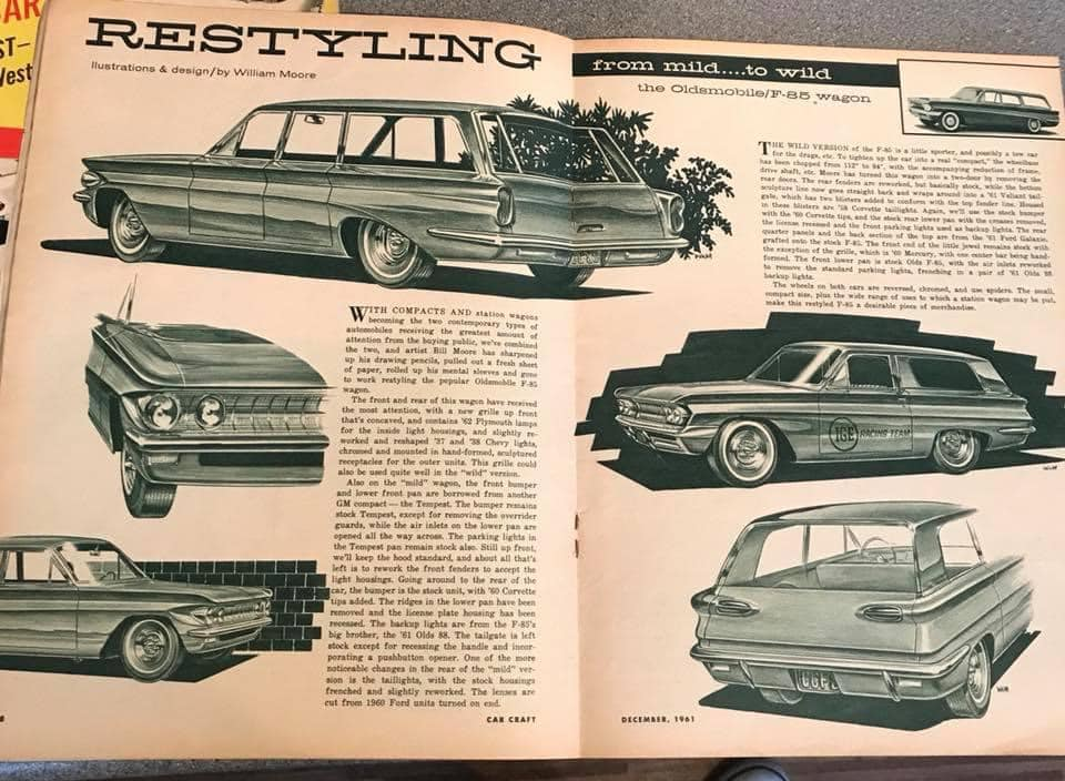 Car Craft magazine late fifties early sixties - restyling from mild to wild 13638410