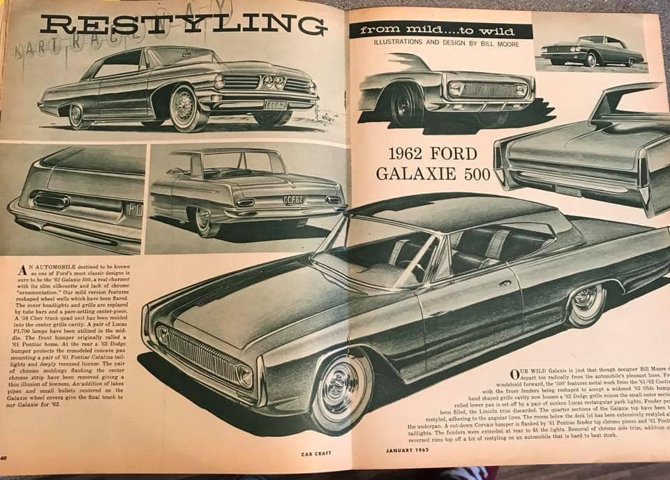 Car Craft magazine late fifties early sixties - restyling from mild to wild 13665210