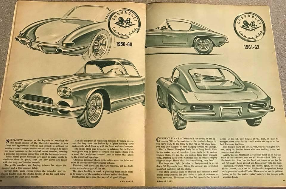 Car Craft magazine late fifties early sixties - restyling from mild to wild 13665211