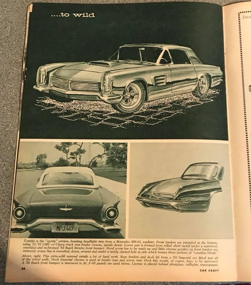 Car Craft magazine late fifties early sixties - restyling from mild to wild 13669310