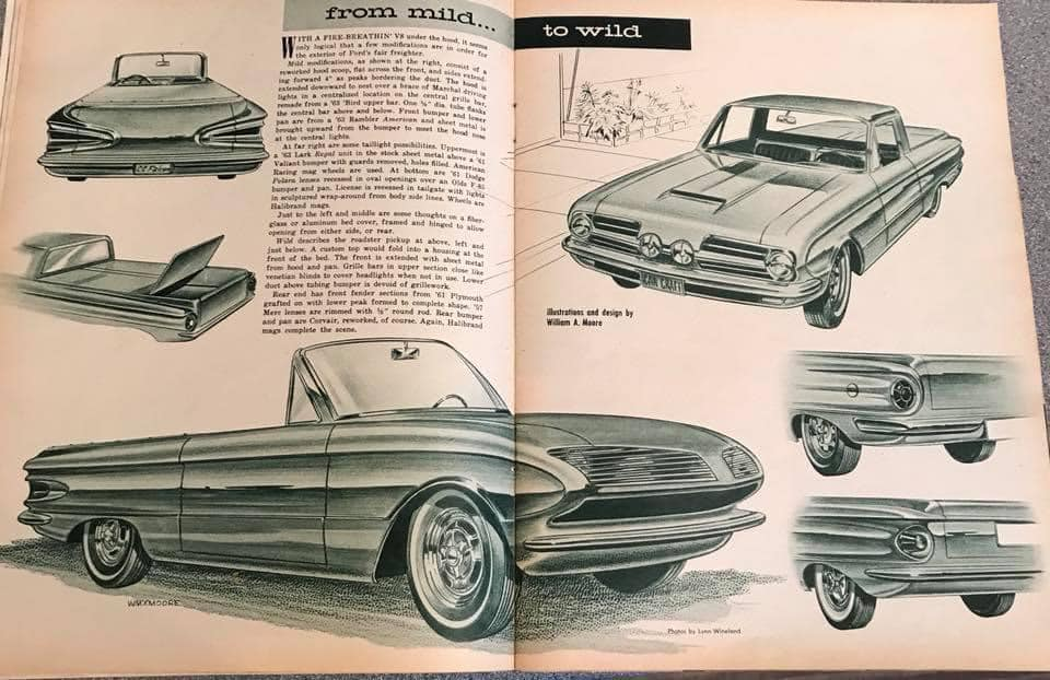 Car Craft magazine late fifties early sixties - restyling from mild to wild 13698510