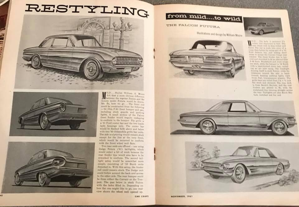 Car Craft magazine late fifties early sixties - restyling from mild to wild 13705610